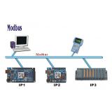 serviço de configuração de rede ModBus Paulínia